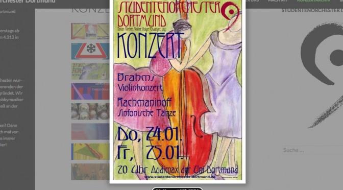 Neu: Konzertplakatgalerie